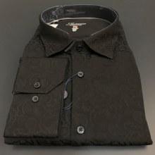 Luchiano Visconti Paisley Long Sleeve Sport Shirt