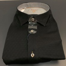 Luchiano Visconti Stretch Interlay Long Sleeve Sport Shirt