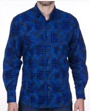 Luchiano Visconti Sketch Long Sleeve Sport Shirt