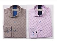 2205 Ink Six Dot Long Sleeve Sport Shirt