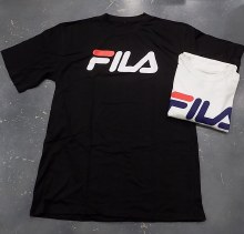 Fila Short Sleeve Screen T-Shirt Classic Logo