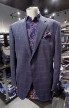 Peter Millar Quad Check Sport Coat