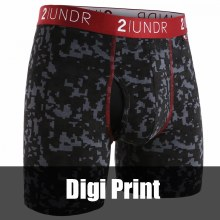 """2 UNDR Swing Shift Joey Pouch Boxer Brief 6"""""""