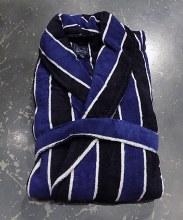 Majestic Striped Plush House Robe