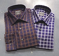 Summerfields Quad Windowpane Long Sleeve Dress Shirt