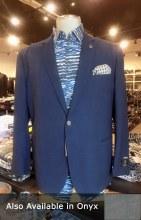 2205 Ink Melange-Weave Sport Coat