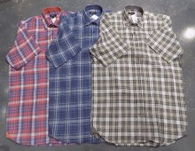 Jon Randall Linen Plaid Short Sleeve  Shirt
