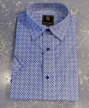 FX Fusion Cubic Short Sleeve Sport Shirt