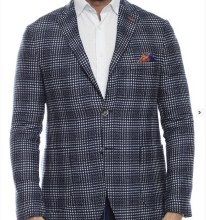 Luchiano Visconti Check Sport Coat