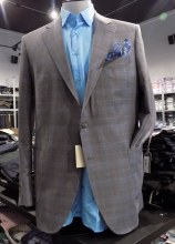 Peter Millar Windowpane Soft Spot Coat