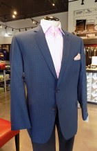 Jean Paul Germain Windowpane Sport Coat