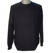 FX Fusion Solid Cable Knit Sweater Wine, Cobalt, Black