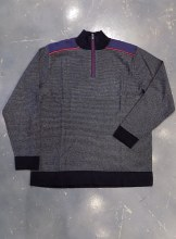 FX Fusion Reverse Stripe 1/4 Zip Sweater