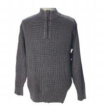 FX Fusion 1/4 Zip Sandwashed Sweater. Black,Denim,Olive