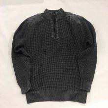 FX Fusion 1/4 Zipp Sandwashed Sweater