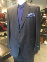 Empire Plaid Wool  Sport Coat
