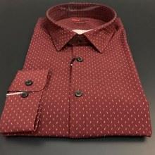 Red Label Modern Fit Long Sleeve Sport Shirt