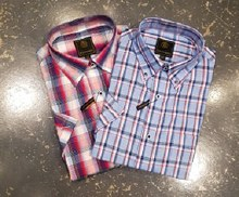 FX Fusion Plaid Short Sleeve Sport Shirt