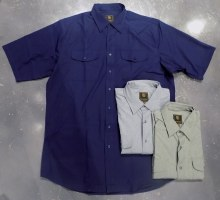 FX Fusion Two-Pocket Travel Short Sleeve Shirt