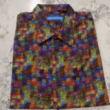 Justin Harvey Colour Map Short Sleeve Shirt