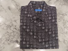 Justin Harvey Brickett Style Short Sleeve Shirt