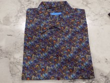Justin Harvey Deep Sea Short Sleeve Shirt