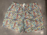 Luchiano Visconti Paisley Swim Trunk