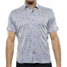 Luchiano Visconti Knit Short Sleeve Shirt