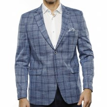 Luchiano Visconti Plaid Sport Coat