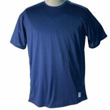 Elite Sport Performance Crew T-Shirt - Charcoal, Navy