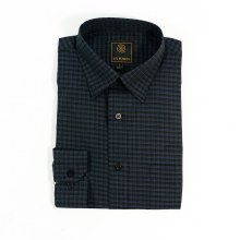 FX Fusion Tonal Check Long Sleeve Shirt
