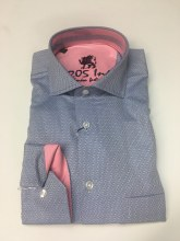 2205 Ink Diamond Print Sport Shirt