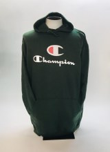 Champion Big C and Script Hoodie