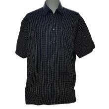 Summerfields Back Label Camp Shirt. Black, Navy