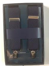 Summerfields Clip End Suspenders - Black, Navy
