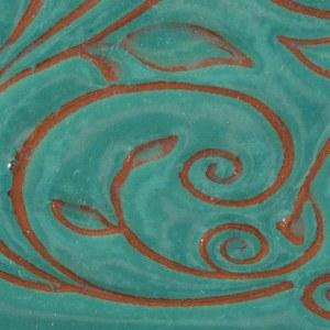 21 Aquamarine Opalescent Pint