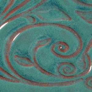 26 Turquoise Opalescent Pint