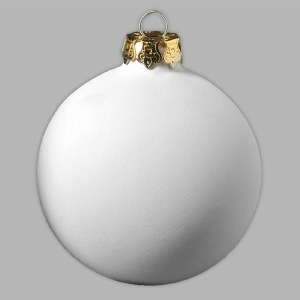 "4"" Holiday Ornament Ball"