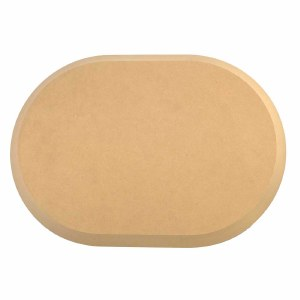"""Wood Rounded Rec 12x17""""DISC"""