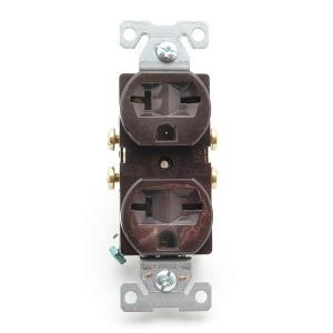 Receptacle 20A 250V Double