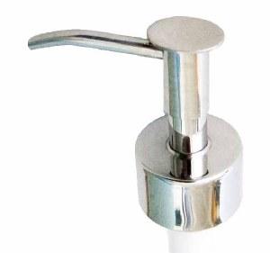 Soap Pump, Metal, Gloss Finish
