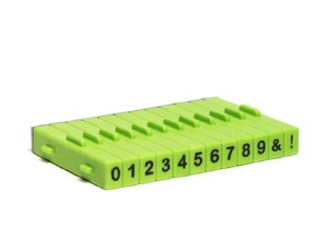 Attachable Numbers Stamp Set