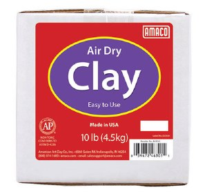 Amaco Air Dry Clay 10lb White