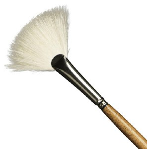 Amaco Fitch Fan Brush No. 4