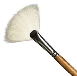 Amaco Fitch Fan Brush No. 6