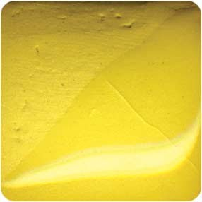 Axner Colored Porcelain Yellow