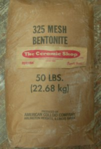 Bentonite, 325 Mesh