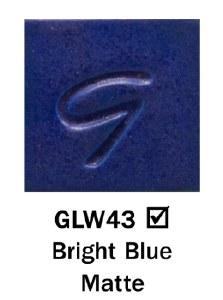 Bright Blue Matte Pint DISC