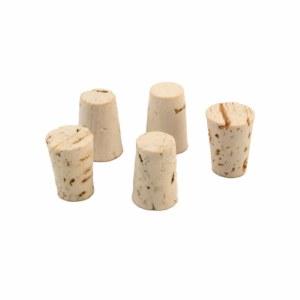 "Cork, 1/2"" Size 2 - Set of 5"