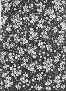 Decal, Rice Paper 15 Black